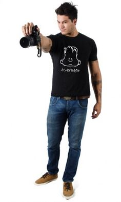 Camiseta Acanhado - Reis Online Camisetas Personalizadas