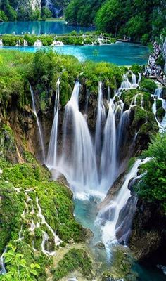 Plitvice Lakes National Park,Croatia (UNESCO World Heritage Site)