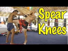 Muay Thai Flying Knee - How To Throw A Flying Knee Strike - YouTube