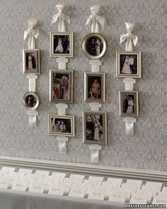 loves this to display those old vintage family photos