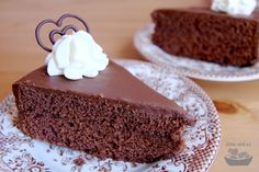 Sacher (vč. bezlepkové varianty) | Jíme rádi Gluten Free Baking, Dairy Free Recipes, Free Food, Food And Drink, Low Carb, Pudding, Cooking, Cake, Glutenfree