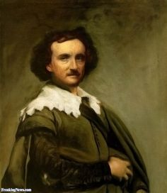 Edgar Allen Poe Portrait  -  To celebrate the 200th birthday of Edgar Allan Poe, give anything (movies, paintings, posters) a Poe-inspired theme (from any of his stories), or make an illustration to any of the Poe's stories.