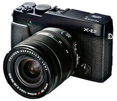 Fujifilm-X-E2-camera-black