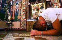 Να θυμάσαι και να φοβάσαι δύο λογισμούς. Ο ένας λέει: «Είσαι άγιος» και ο άλλος: «Δεν θα σωθείς» Kai, Contemporary History, Faith In God, Christian Faith, Christianity, Prayers, Spirituality, Painting, Life