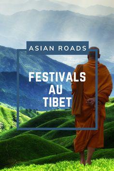 Notre calendrier de tous les festivals au Tibet ! Ils sont organisés selon le calendrier lunaire chinois. Festivals, Le Tibet, Destinations, Roads, Movie Posters, Movies, Moon Sign Calendar, Travel, Chinese