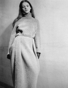 Maison Martin Margiela - what is this? Robe? Beach cover-up? Winter nightgown? Surely it's not for going outside in public!