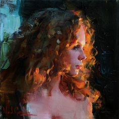 The Garmash's incredible talent is only matched by their love and career stories. Michael and Inessa won several International awards for their portrait work and are considered to be one of the most important figurative artists working on the US market. L'art Du Portrait, Portrait Paintings, Pencil Portrait, Art Paintings, Ouvrages D'art, Classical Art, Renaissance Art, Pretty Art, Aesthetic Art