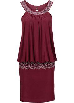 daf0e600595744 Cocktail-Kleid. Cocktail-Kleid ahornrot jetzt im Online Shop von bonprix.de  ab € 34 ...
