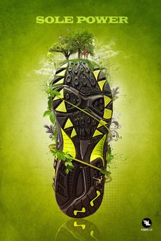 Here are some shoes print advertisement for inspiration, some of them are real world advertisement and some just the concept but have quite the same creativity, mostly are the sport shoes to make your mood up to get up doing exersise, enjoy.