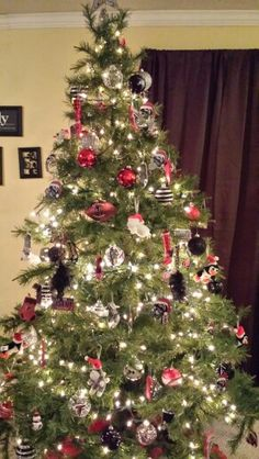 Atlanta Falcons Christmas Ornaments