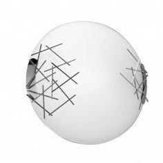 50 modèles- luminaire laurie, synonyme de chic et contamporain design - plafonnier-stick-blanc