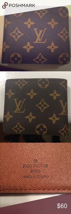 Louis Vuitton Wallet *R*E*P*L*I*C*A* Must Go! Lightly used, one owner, no blemishes or scratches. Must go soon! Pristine condition with no rips or discoloration. Bought new in late December of 2017. Louis Vuitton Accessories