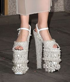 Gigantic Pearl Shoes