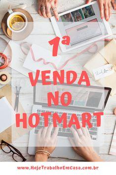 Trabalhar Em Casa · Esse post é uma conversa sobre a minha primeira venda  no Hotmart. Não é incomum 6e0ef2af10cc