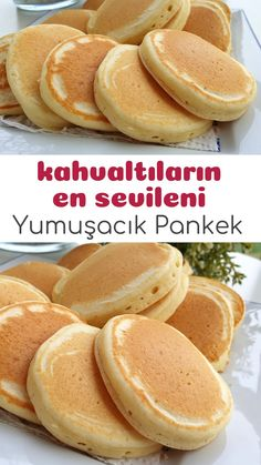 2 Kişilik Pankek (Tam Ölçülü Pamuk Pankek Tarifi) – Nefis Yemek Tarifleri How To Make A Pancake Recipe For 2 People? Illustrated explanation of 2 Person Pancake Recipe in the book of people and photographs of those who try here. Breakfast Recipes, Dinner Recipes, Dessert Recipes, Yummy Recipes, Pancake Recipe For 2, Pancake Recipes, Recipe For 2 People, How To Make Pancakes, Tasty