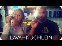 Rezept für Köstliche Protein Schoko-Lava Küchlein - Sophia Thiel - YouTube