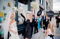 Wedding at Powerhouse Arena | Michelle Edgemont / a wedding parade