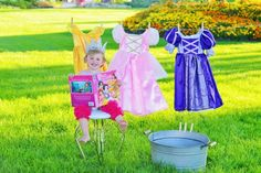Even Princesses need to do laundry! @Enchanted Kingdom Costumes
