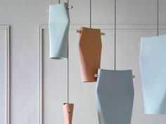 over dining in kitchen  Ceramic pendant lamp DENT by Miniforms design Skrivo