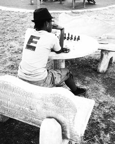 """Titi's Instagram post: """"Chess is Love. 🖤🤍 Chess is Life. ♟  #chess #chessiesofinstagram #chessboard #eminem"""" Eminem, Chess, Instagram Posts, Life, Gingham"""