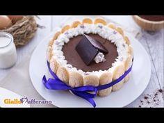 Charlotte con mousse al cioccolato fondente - YouTube