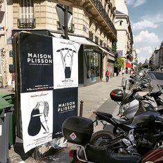 Collage d'affiches pour @lamaisonplisson #lamaisonplisson