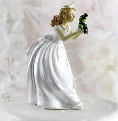 Cake Topper Wedding Ivory Bride Groom Dog German Shepherd Lab