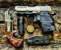 HillCntryRedneck isn't taking any chances. With the SIG P938 and the NAA revolver, he's ready if something fails (or runs dry). While he doesn't carry a lot, he carries the...