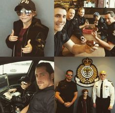 Jacob Tremblay Turns Into Cute Cop, Goes To Work With Cop Dad - http://www.movienewsguide.com/jacob-tremblay-turns-cute-cop-goes-work-cop-dad/173911