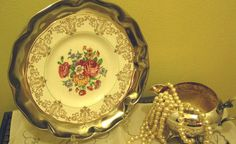Scalloped Silver Platter Wall Hanging by SilverPlatedLiving, $35.00