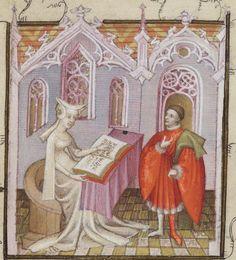 Recueil des oeuvres de « CHRISTINE DE PISAN ». Tome II. Auteur : Christine de Pisan (1363?-1431?). Auteur du texte Date d'édition : 1401-1500 Type : manuscrit Langue : Français