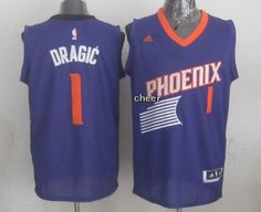 NBA Jerseys Phoenix Suns #1 dragic purple Jerseys