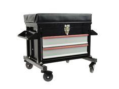Dílenský vozík sedátko židle pojízdná skříňka + zásuvky G10822 | Aukro Kitchen Cart, Home Decor, Decoration Home, Room Decor, Home Interior Design, Home Decoration, Interior Design