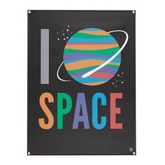 I Heart Space Banner  | The Land of Nod