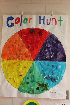 The Very Hungry Preschoolers: colors