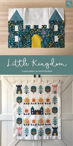 House Quilt Patterns, Modern Quilt Patterns, Modern Baby Quilts, Denim Quilt Patterns, Cute Quilts, Boy Quilts, Quilts For Kids, Quilting Projects, Quilting Designs