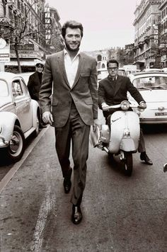 Clint Eastwood...ok in the words of the young he definitely had SWAG!!