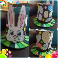 Boys Easter Hat, Easter Bonnets For Boys, Easter Hat Parade, Easter Arts And Crafts, Diy Arts And Crafts, Hobbies And Crafts, Crazy Hat Day, Crazy Hats, Funny Hats