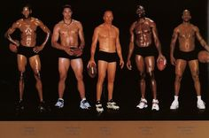 Comparing Vastly Different Body Types of Olympic Athletes - My Modern Metropolis