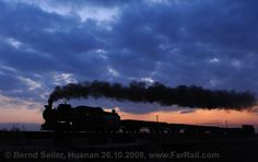Winter Steam in China 2010: Huanan and Jixi