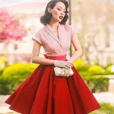 09444ef39 Le palais vintage 2017 summer classic vintage camisa rayada de las mujeres  jacquard de punto de algodón de tela fina delgada blusa 50 s