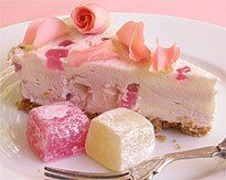 Turkish Delight Cheesecake recipe