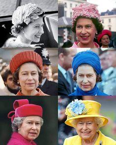 Queen Elizabeth Wedding, Elizabeth Ii, Jewel Colors, Colours, British Royals, Rainbow Colors, Family Photos, Flower Arrangements, 1950s