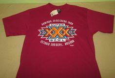 NEW Vntg 90s 1996 NFL SUPER BOWL XXX T Shirt M Cowboys - Steelers - SPANISH  NWT #Soffe #DallasCowboys