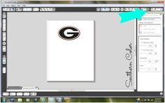 Southern Color: Silhouette Cameo: Trace Function Tutorial