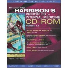 Harrison's Principles of Internal Medicine, CD-ROM (Used)