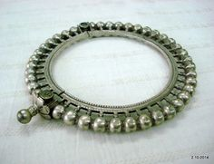vintage antique tribal old old silver armlet by tribalsilver99