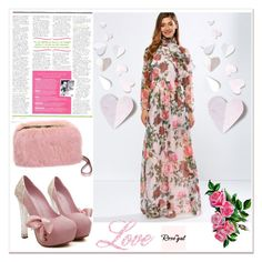 """""""Rosegal 24"""" by zbanapolyvore ❤ liked on Polyvore featuring vintage"""