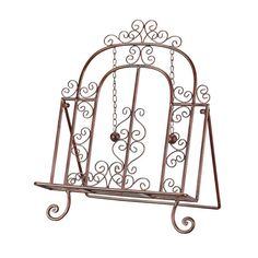 Sterling Industries 44-1073 Sterling Decorative Cook Book Stand Copper Patina Home Decor Kitchen Decor Recipe Holders