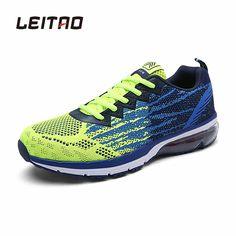 Running Shoes  LEITAO Mens Sports Running Shoes Outdoor Breathable Comfortable Shoes Lightweight Athletic Sneakers for Men Zapatos Deportivos >>> Vy mozhete poluchit' boleye podrobnuyu informatsiyu, nazhav na izobrazheniye.